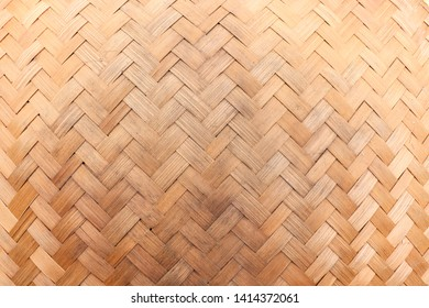 Plaited Bamboo Texture. Plaited Bamboo Background.