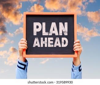 Plan ahead on blackboard.