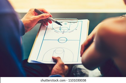 Plan for a basketball match
