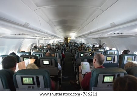 plane interior stock photo edit now 766211 shutterstock