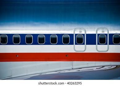 A plane at JFK