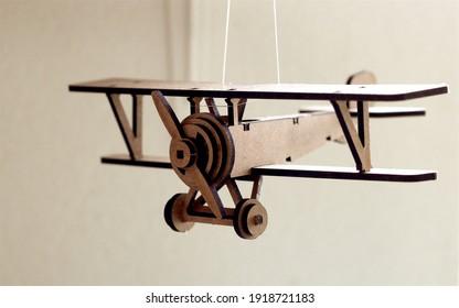 Plane Nieuport 17 from first world war