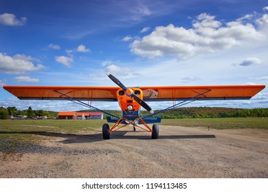 Plane On Run Way