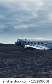 The plane on Solheimasandur in Iceland