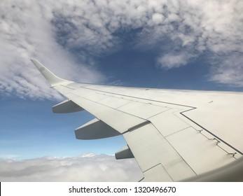 Plane photos taken on a transatlantic flight
