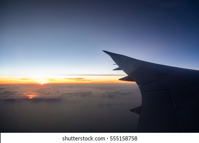 From the plane window