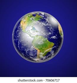 Planet Earth. Data source: NASA