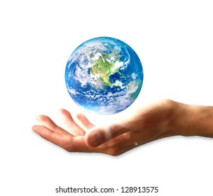Planet earth in hand / World hand / Planet / World / Earth / World in hand