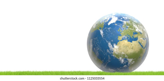 planet earth world wide 3d-illustration