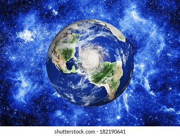 planet in space. Elements of this image furnished by NASA
