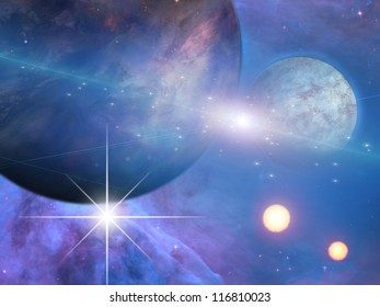 Planets and suns