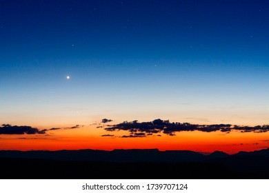 Planets venus and mercury over the west horizon, interior planets are difficult to observe