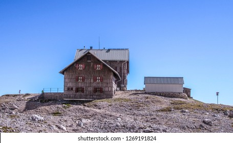 Planika Lodge at Triglav, Triglav National Park, Slovenia  - Shutterstock ID 1269191824