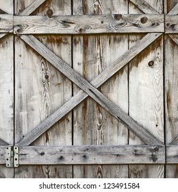 plank wooden wall of old barn background