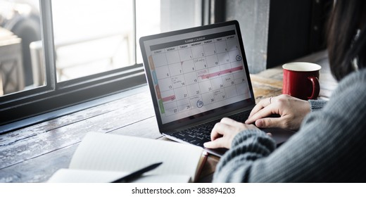Planner Organizer Date Events Schedule Concept
