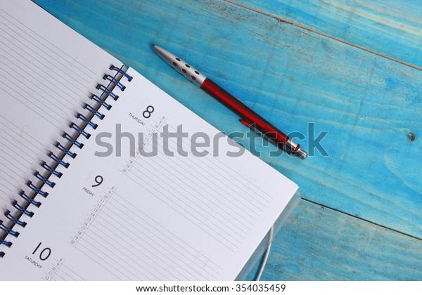 Planer und Stift