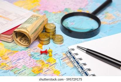 planning for budget travel destination