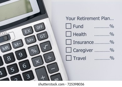 Planning the future that, after retirement, you should allocate your money?