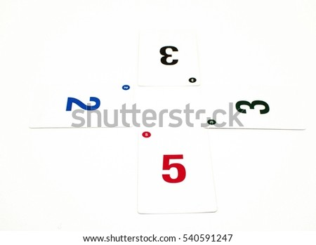 Planning Poker Cards Used Scrum Planning Stock Photo Edit Now