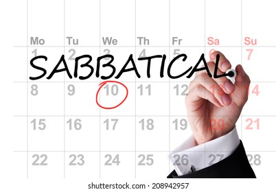 Planning a sabbatical year
