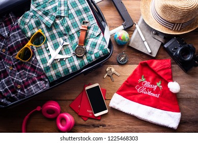 Planning for travel with Christmas festival