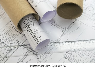 Plans of building