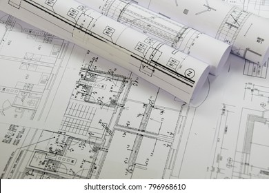 Plans of building - project