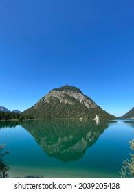 Lac Plansee à Tyrol en Autriche en été