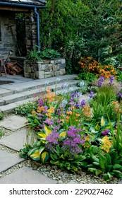 plant composition at Chelsea Flower Show