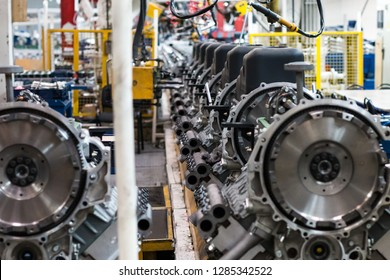 plant for the production of automotive parts