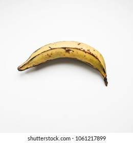 Plantain on a white background.
