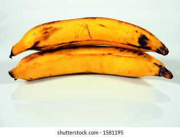 Plantains, not bananas