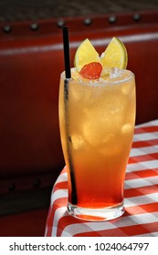 Planter's punch, classic american drink