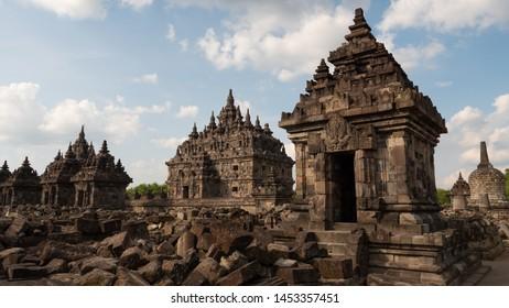 Plaosan temple in Java island,Indonesia