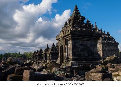 Plaosan Temple on central java