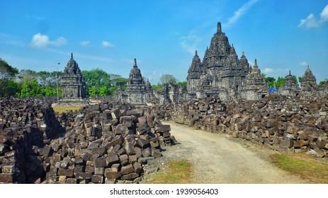 Plaosan Temple, Special region of Yogyakarta, Indonesia