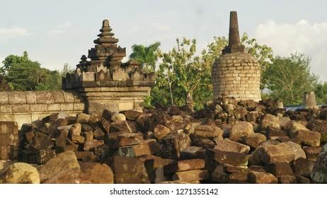 plaosan temple texture