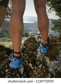 """Plasencia, Caceres, Spain"" 07/22/2018: Trailrunning."