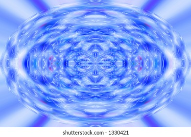 plasma burst abstract background effect with ripples