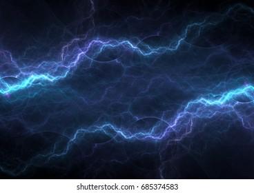 Plasma and lightning background