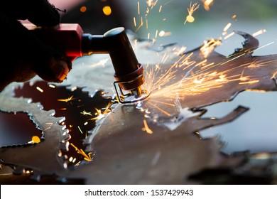 Plasma torch (also known as a plasma arc, plasma gun, or plasma cutter, plasmatron). Metal cutting. DIY instruments. Metal welding