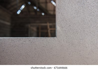 Plaster cement wall New