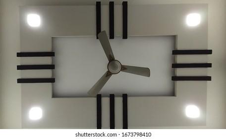 Plaster Paris Design Living Room Stock Photo Edit Now 1673798410