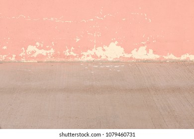plaster wall of soft pastel colors