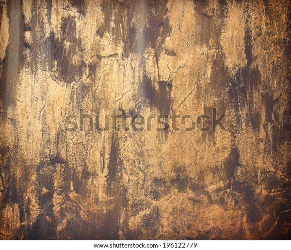 Plaster walls black grey wall texture grunge background.