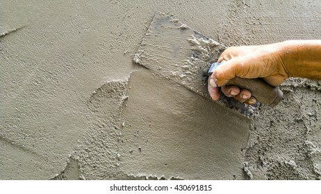 The plaster walls are A task that requires particular skills .