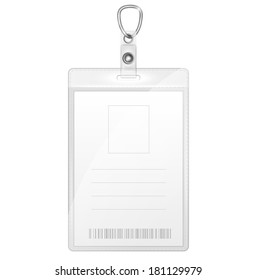 Plastic Badge For Person Identification