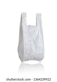 Plastic bag isolated with Clipping Path