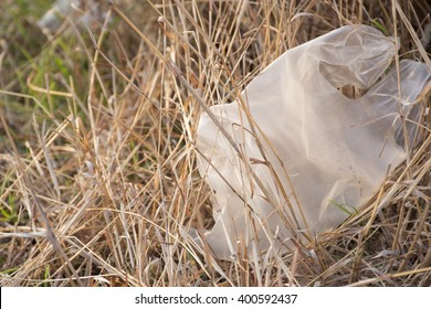 Plastic bag with nature