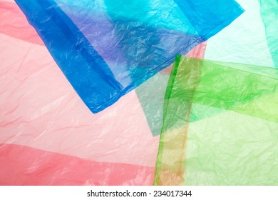 plastic bags background